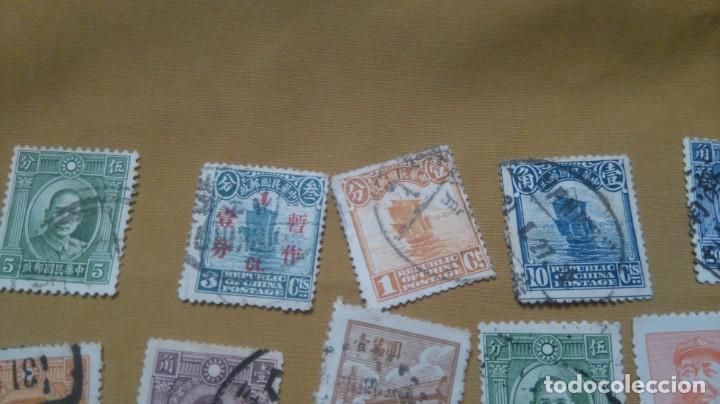 Sellos: Lote sellos china junco clásicos y modernos - Foto 2 - 224238962