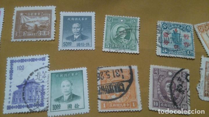 Sellos: Lote sellos china junco clásicos y modernos - Foto 3 - 224238962