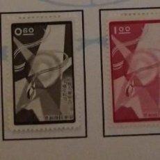 Sellos: O) 1958 CHINA, LLAMA DE LIBERTY ANTORCHA ENCIRCULANDO GLOBO, FIRMA DE LA DECLARACIÓN UNIVERSAL DE DE. Lote 263097215