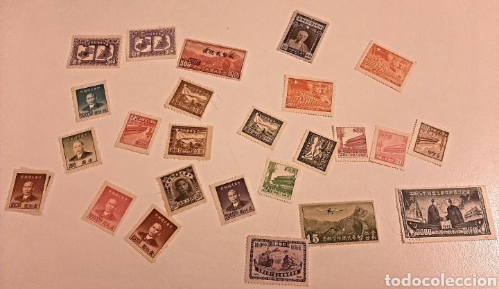 SELLOS DE CHINA AÑOS 40 NUEVOS (Sellos - Extranjero - Asia - China)
