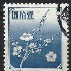 Francobolli: CHINA / TAIWAN 1979 - FLOR NACIONAL - USADO. Lote 266835014