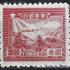 Selos: CHINA ORIENTAL 1949 - 7º ANIVERSARIO DE LA SEDE DEL PARTIDO COMUNISTA DE SHA TUNG - MNH SIN GOMA. Lote 269025319