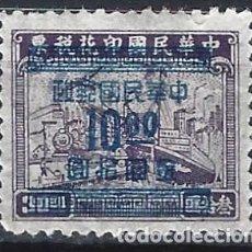 Sellos: CHINA IMPERIAL 1949 - SELLO FISCAL, SOBRECARGADO - MH SIN GOMA. Lote 269191353