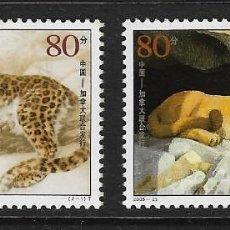 Sellos: CHINA. YVERT NSº 4322/23 NUEVOS Y DEFECTUOSOS. Lote 288212013