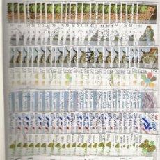 Sellos: GRAN LOTE DE MAS DE 2000 SELLOS DE SEGUNDO CENTENARIO MODERNOS LOS DE LA FOTO MONTADOS EN CLASIFICAD. Lote 26972171