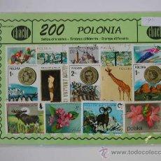 Sellos: 200 SELLOS USADOS DE POLONIA. Lote 26900930