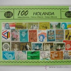 100 SELLOS USADOS DE HOLANDA