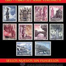 Sellos: LOTE SELLOS -1965 S. CPTA TURISMO II (1643-52) - (UNIFICO ENVIOS AHORRA GASTOS COMPRANDO MAS SELLO). Lote 15728783