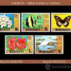 Timbres: LOTE SELLOS - KIRIBATI - S. FLORA Y FAUNA / ANIMALES / FLORES (AHORRA GASTOS COMPRANDO MAS SELLO). Lote 16494766
