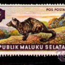 Timbres: LOTE SELLOS NUEVOS - REP. MALUKU - S. ANIMALES / FAUNA / (AHORRA COMPRANDO MAS SELLO. Lote 17956520