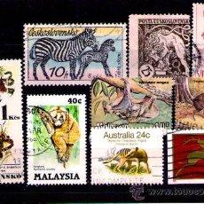 Timbres: LOTE SELLOS TEMATICA FAUNA / ANIMALES (AHORRA GASTOS COMPRANDO MAS SELLO). Lote 18664987
