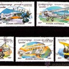 Sellos: LOTE SELLOS TEMATICA - AVIONES/AVIACION/AEREO/AERONAUTICA (AHORRA GASTOS COMPRANDO MAS SELLO). Lote 19141198