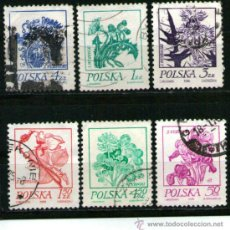 Sellos: LOTE DE SELLOS TEMATICA FLORES / PLANTAS / FLORA (AHORRA GASTOS COMPRANDO MAS SELLO. Lote 19888218