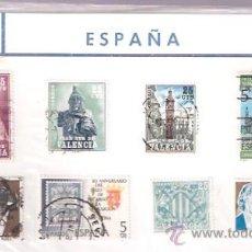 Sellos: SELLOS USADOS - PLAN SUR DE VALENCIA - EXPO BARCELONA 1929, LA SALLE EN ESPAÑA . Lote 28685650