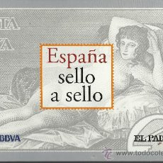 Sellos: ALBUM ESPAÑA SELLO A SELLO, 330 SELLOS EN LÁMINAS TROQUELADAS VER FOTOS. Lote 32776292