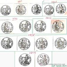 Sellos: RESTO DE COLECCION DE SELLOS FISCALES DE ESPAÑA. APROX. CATº +3.230 € VER 20 PLANCHAS Y CONDICIONES.. Lote 32969815