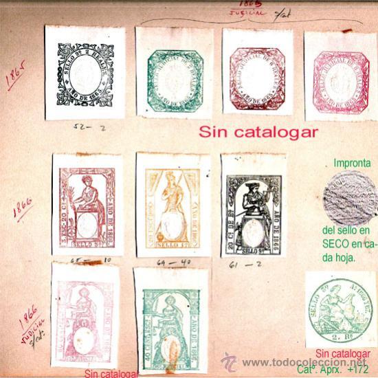 Sellos: Plancha VII.- Lote con 8 piezas. Su precio 77 € - Foto 7 - 32969815
