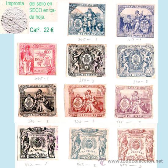 Sellos: Plancha X.- Lote con 11 piezas. Su precio 10 € - Foto 10 - 32969815