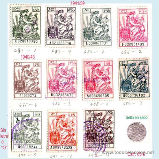 Sellos: Plancha XVIII.- Lote con 11 piezas. Su precio 30 € - Foto 15 - 32969815