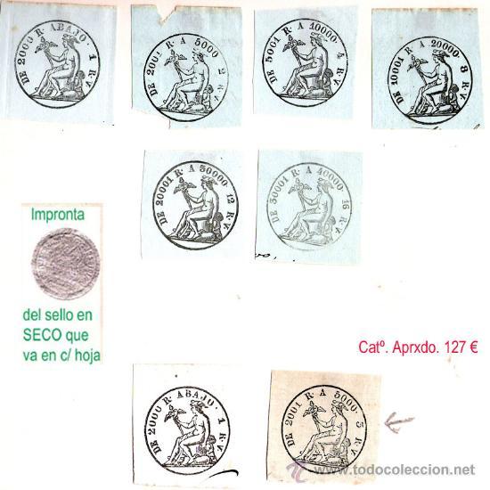 Sellos: Plancha XX.- Lote con 8 piezas. Su precio 58 € - Foto 17 - 32969815