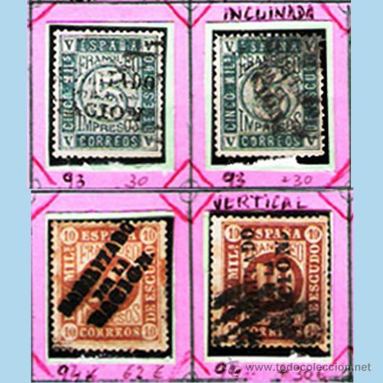 Sellos: 1868. GBNO. PROVISIONAL -HAB. POR LA NACION- 22 SELLOS,NUEVOS,USADOS+VARIANTES de MADRID.Cat.1919 € - Foto 3 - 34188680
