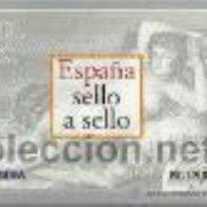 Sellos: ALBUM ESPAÑA SELLO A SELLO COMPLETO , 330 SELLOS EN LÁMINAS VER FOTOS. Lote 37497750