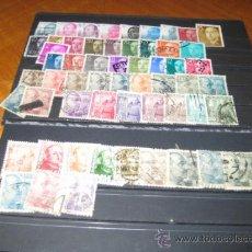 Sellos: 102 SELLOS DIFERENTES DE FRANCO Y JUAN CARLOS. Lote 38398710