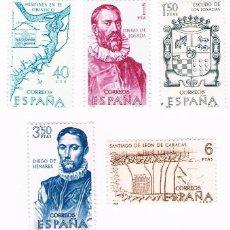 Briefmarken - COLECCION FORJADORES DE AMERICA. AÑO 1968. Edifil del 1889 al 1893 - 42899434