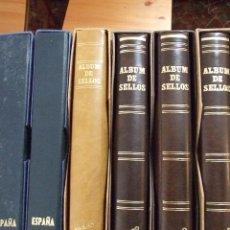 Sellos: FOTOS NUEVAS COLECCION 6 ALBUNES MAS DE 4000 SELLOS AÑO 1855 A 1994 - ESPAÑA , COLONIAS , REPUBLICA. Lote 44086946