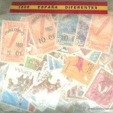 Sellos: 1000 SELLOS DIFERENTES DE ESPAÑA. Lote 109209036
