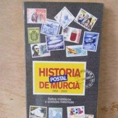 Sellos: COLECCIÓN SELLOS HISTORIA POSTAL DE MURCIA 1850 2000 LA OPINIÓN - SELLOS METALICOS. Lote 45119513