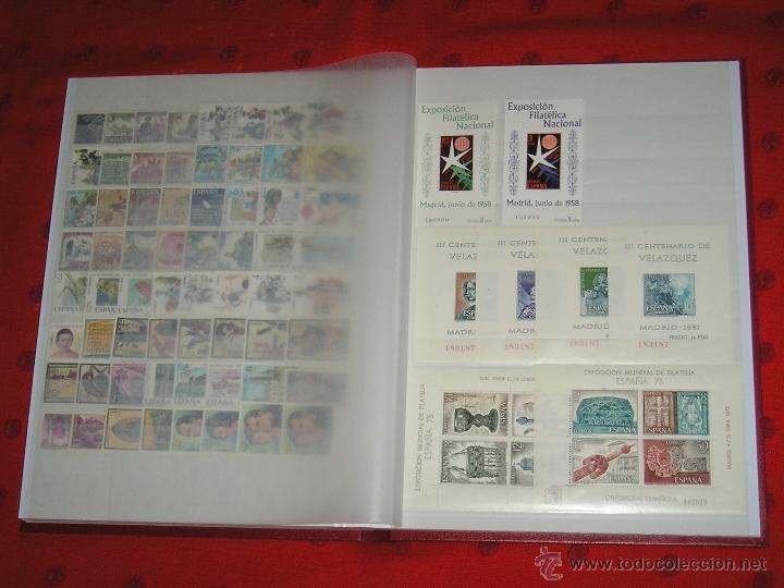 1950 AL 1975 COLECCION DE SELLOS NUEVOS DE ESPAÑA . (Sellos - Colecciones y Lotes de Conjunto)