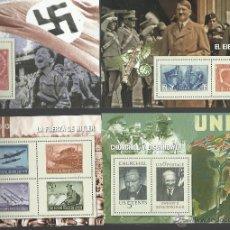 Briefmarken - COLECCION DE 13 HOJITAS BLOQUE DE LA II GUERRA MUNDIAL DE LA COLECCION DEL MUNDO VER FOTOS - 47371572