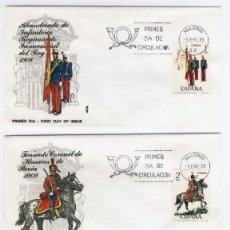 Sellos: LOTE 5 SPD - SOLDADOS (VER AMBAS FOTOS) 5-1-78. Lote 162324152