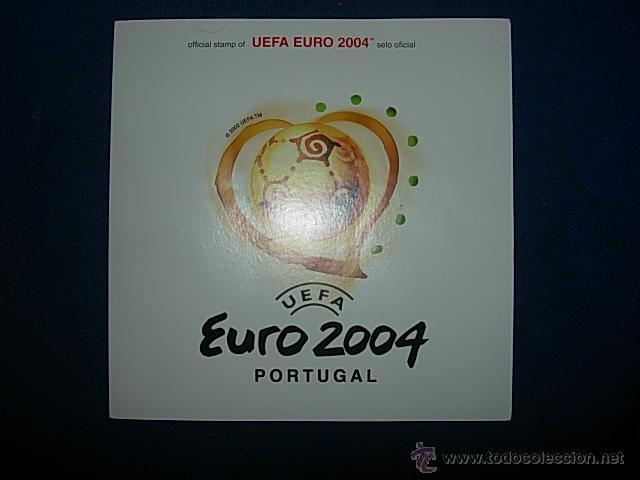 UEFA EURO 2004 SELLOS OFICIALES (Sellos - Colecciones y Lotes de Conjunto)