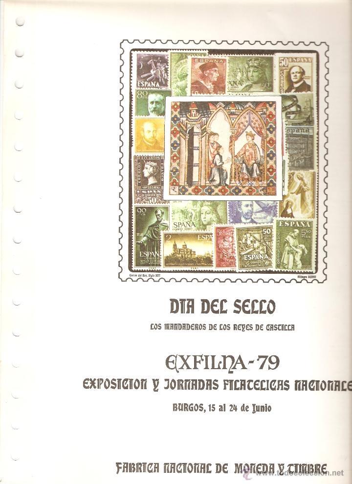 Sellos: LOTE 6 DOCUMENTOS FILATELICOS FNMT - Foto 2 - 52771635