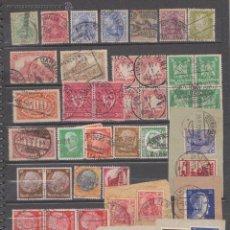 Sellos: ALEMANIA REICH , COLECCIÓN HASTA 1945 , INCLUYE RAROS MATASELLOS. Lote 53113360