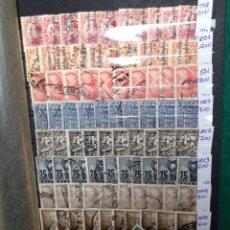 Sellos - Clasificador con sellos usados mundiales. Destaca España. - 53592400