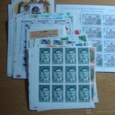 Sellos: ESPAÑA AÑO 1993 BLOQUES DE 12 SELLLOS.BAJO FACIAL VER DESCRIPCION. Lote 53733057