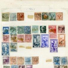 Briefmarken - 5 ANTIGUAS HOJAS DE ÁLBUM CON SELLOS DE ALEMANIA, IRLANDA, HOLANDA, RUMANÍA E ITALIA (S00103) - 53818650