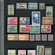 Sellos: LOTE DE 27 SELLOS EN NUEVO VARIOS PAÍSES. INDIA, ANTILLAS HOLANDESAS, LEEWARD, , ETC (S00106). Lote 53819400