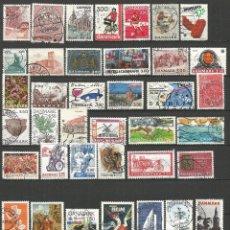 Briefmarken - DINAMARCA CONJUNTO DE SELLOS USADOS DIFERENTES - 54572493