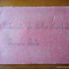 Sellos: COLECCION ALBUM SELLOS DEL MUNDO. Lote 56663403