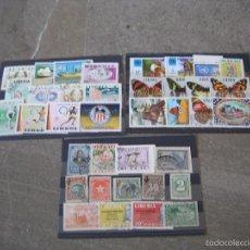 Sellos: LIBERIA. 37 SELLOS DIFERENTES. . Lote 58779361