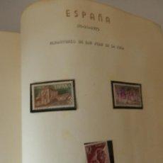 Sellos: GRAN ALBUM .- Nº 8 .- COLECCION PARTICULAR ESPAÑA RAREZAS MUY COMERCIAL SE MUESTRA TOTALIDAD. Lote 59108955