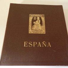Sellos: ALBUM Nº 9 COLECCION CENTENARIO SELLO DENTADO ESPAÑOL MUY COMPLETO MUY COMERCIAL 595 UDS. Lote 59388970