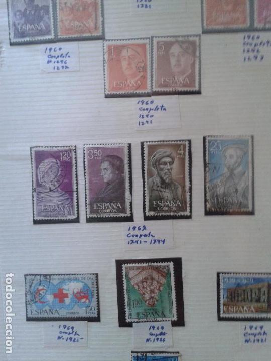 Sellos: IMPRESIONANTE LOTE DE SELLOS ESPAÑOLES ANTIGUOS años 60 ,(datados) MUY DIFÍCIL DE CONSEGUIR - Foto 2 - 61388691