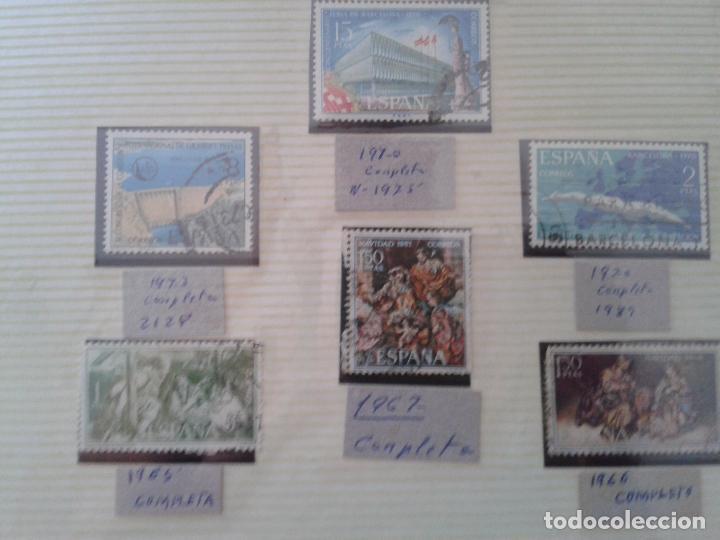 Sellos: IMPRESIONANTE LOTE DE SELLOS ESPAÑOLES ANTIGUOS años 60 ,(datados) MUY DIFÍCIL DE CONSEGUIR - Foto 6 - 61388691