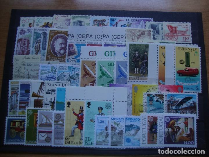TEMA EUROPA AÑO1979 CONMINIOJAS.NUEVOS Y PERFECTOS (Sellos - Colecciones y Lotes de Conjunto)