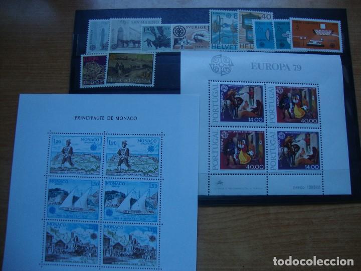 Sellos: TEMA EUROPA AÑO1979 CONMINIOJAS.NUEVOS Y PERFECTOS - Foto 2 - 61508759